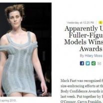 New York Magazine – Body Confidence Awards 2012