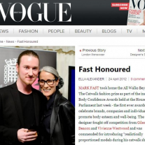 Vogue – Body Confidence Awards 2012