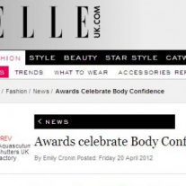 Elle Online – Body Confidence Awards 2012